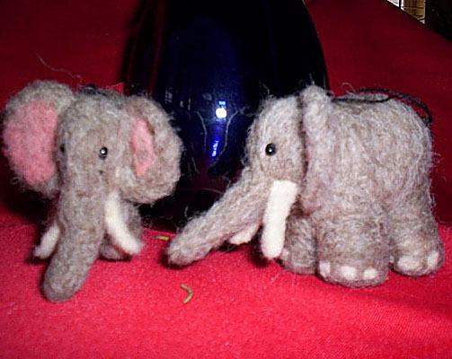 Needlefelt Elephant