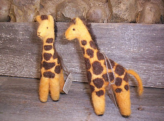Needlefelt Giraffe